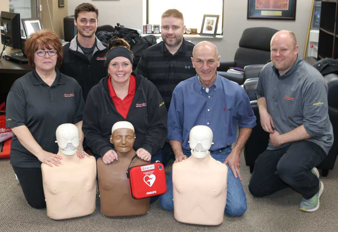 CPR and Staff 1