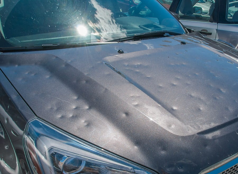 How to Handle Your Vehicle's Hail Damage